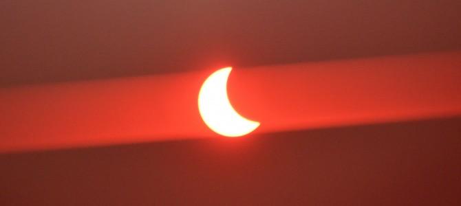 Zaćmienie Słońca okiem ZSP2