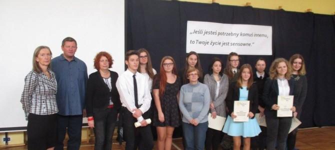 Półfinał międzywojewódzkiego XV Konkursu Recytatorskiego o Laur Stefana Żeromskiego