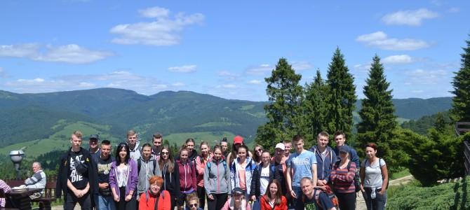 Wycieczka szkolna w Pieniny