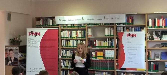 I edycja Konkursu Pięknego Czytania