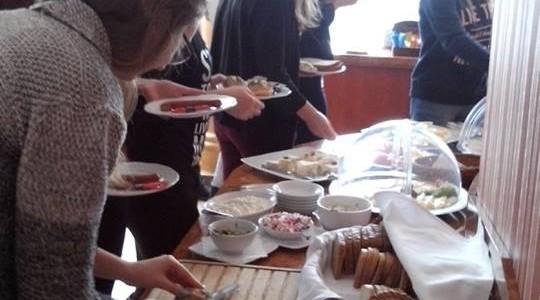 Śniadanie w Hotelu Pietrak