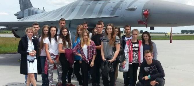 Wycieczka do 31 Bazy Lotnictwa Taktycznego w Krzesinach