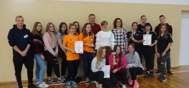 Mistrzostwa Powiatu w  Drużynowym Tenisie Stołowym Dziewcząt i Chłopców