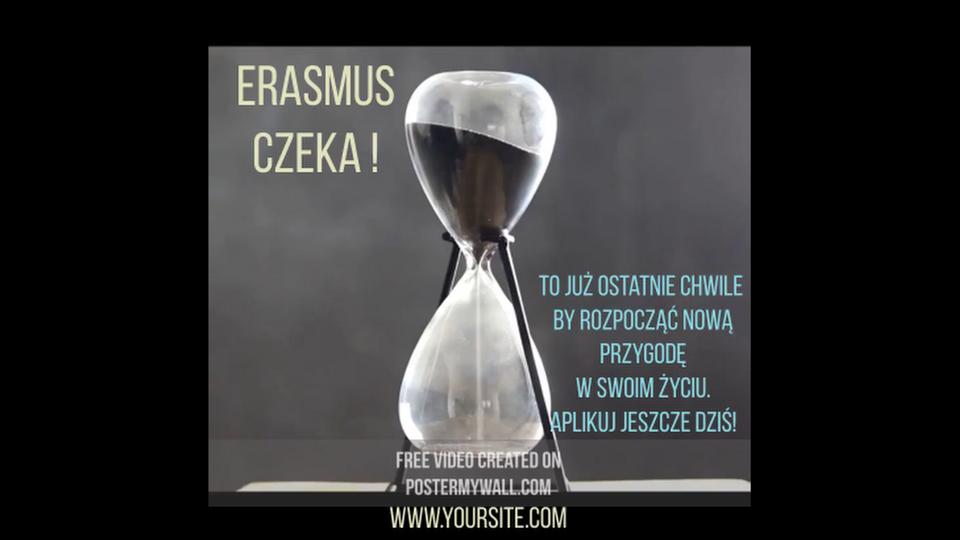 Erasmus czeka!